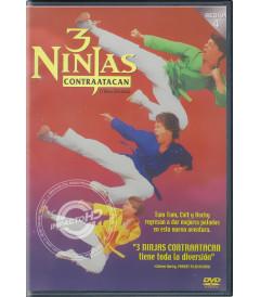 DVD - 3 NINJAS (CONTRAATACAN)