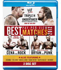 WWE BEST PAY PER VIEW MATCHES (2012) - USADA