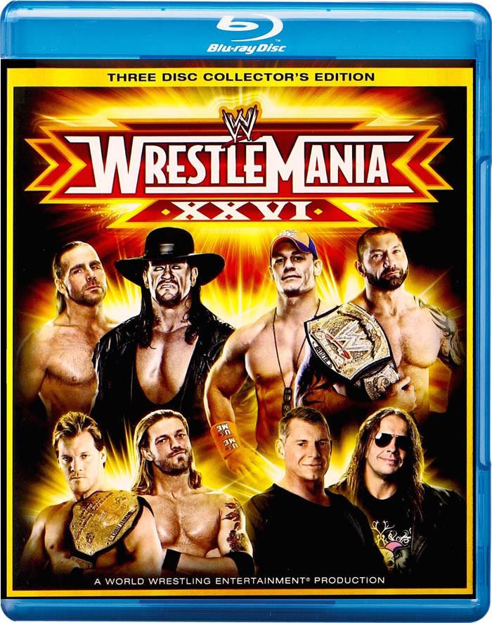 WWE WRESTLEMANIA 26 (EDICIÓN COLECCIONISTA DE 3 DISCOS) - USADA