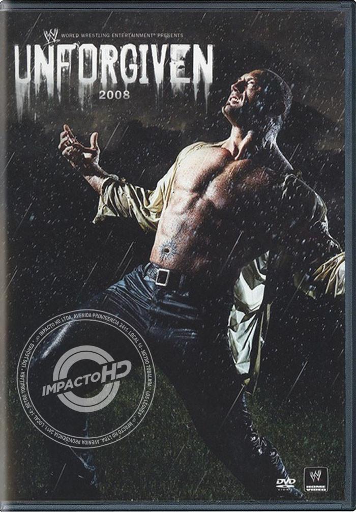 DVD - WWE UNFORGIVEN (2008) - USADA