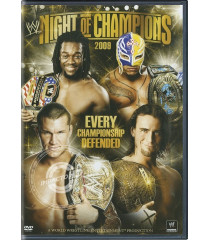 DVD - WWE NIGHT OF CHAMPIONS (2009) - USADA