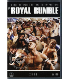DVD - WWE ROYAL RUMBLE (2008) - USADA
