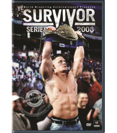 DVD - WWE SURVIVOR SERIES (2008) - USADA