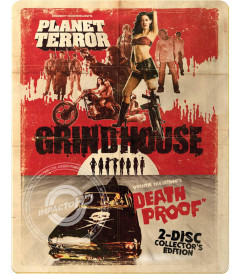 GRINDHOUSE (PLANETA TERROR / A PRUEBA DE MUERTE) (EDICIÓN ESPECIAL STEELBOOK)