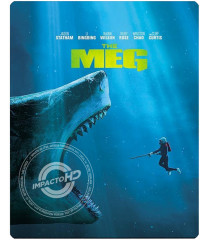 4K UHD - MEGALODÓN (STEELBOOK EXCLUSIVO DE BEST BUY)