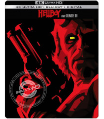 4K UHD - HELLBOY (EDICIÓN ESPECIAL 15 ANIVERSARIO STEELBOOK EXCLUSIVO BEST BUY)
