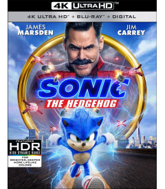 4K UHD - SONIC THE HEDGEHOG - PRE VENTA
