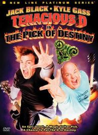 TENACIOUS D IN THE PICK OF DESTINY- DVD-