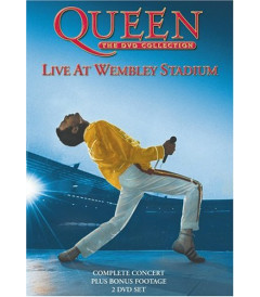 DVD - QUEEN LIVE AT WEMBLEY THE DVD COLLECTION - USADO