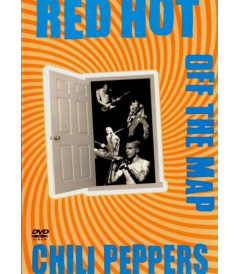 DVD - RED HOT CHILI PEPPERS OFF THE MAP - USADO