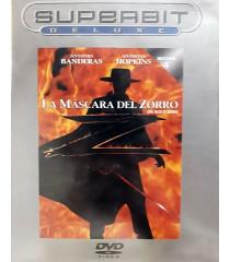 DVD - LA MÁSCARA DEL ZORRO (SUPERBIT DELUXE) - USADA