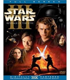 DVD - STAR WARS EPISODIO III (LA VENGANZA DE LOS SITH) - USADA