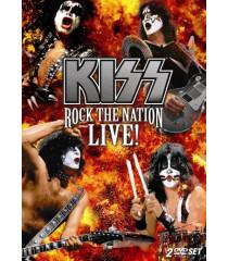 DVD - KISS ROCK THE NATION LIVE - USADO