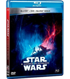 STAR WARS EPISODIO IX (EL ASCENSO DE SKYWALKER) (*) BD+DVD+BONUS