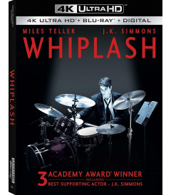 4K UHD - WHIPLASH (MÚSICA Y OBSESIÓN) - PRE VENTA