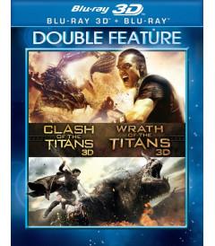 3D - FURIA DE TITANES 1 & 2 (PACK)