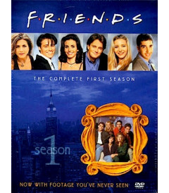 DVD - FRIENDS 1° TEMPORADA COMPLETA - USADA