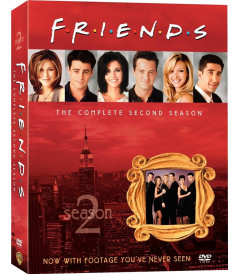 DVD - FRIENDS 2° TEMPORADA COMPLETA - USADA