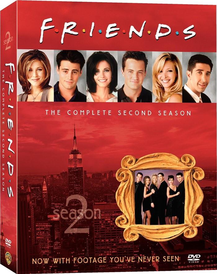 DVD - FRIENDS 2° TEMPORADA COMPLETA - USADA