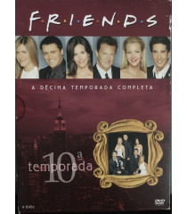DVD - FRIENDS 10° TEMPORADA COMPLETA - USADA