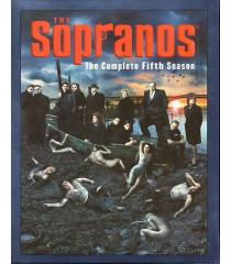 DVD - LOS SOPRANOS 5° TEMPORADA - USADA