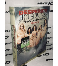 DVD - ESPOSAS DESESPERADAS 3° TEMPORADA COMPLETA (The Dirty Laundry Edition)