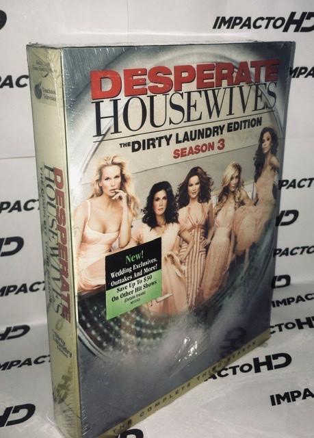 DVD - ESPOSAS DESESPERADAS 3° TEMPORADA COMPLETA (The Dirty Laundry Edition)