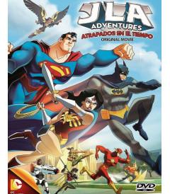 DVD - ATRAPADOS EN EL TIEMPO (AVENTURAS DE JLA) - USADA