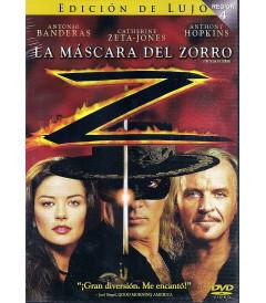 DVD - LA MÁSCARA DEL ZORRO (EDICIÓN DE LUJO)