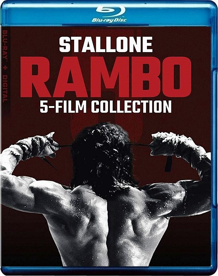 RAMBO (COLECCIÓN COMPLETA 5 PELÍCULAS)