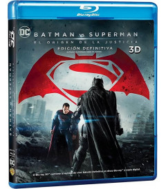 3D - BATMAN VS SUPERMAN (EL ORIGEN DE LA JUSTICIA) (EDICIÓN DEFINITIVA) - USADA
