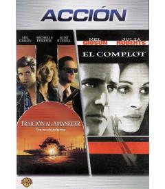 DVD - TRAICIÓN AL AMANECER / EL COMPLOT (PACK DOBLE) - USADA