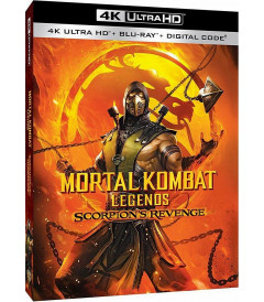 4K UHD - MORTAL KOMBAT LEGENDS LA VENGANZA DE SCORPION