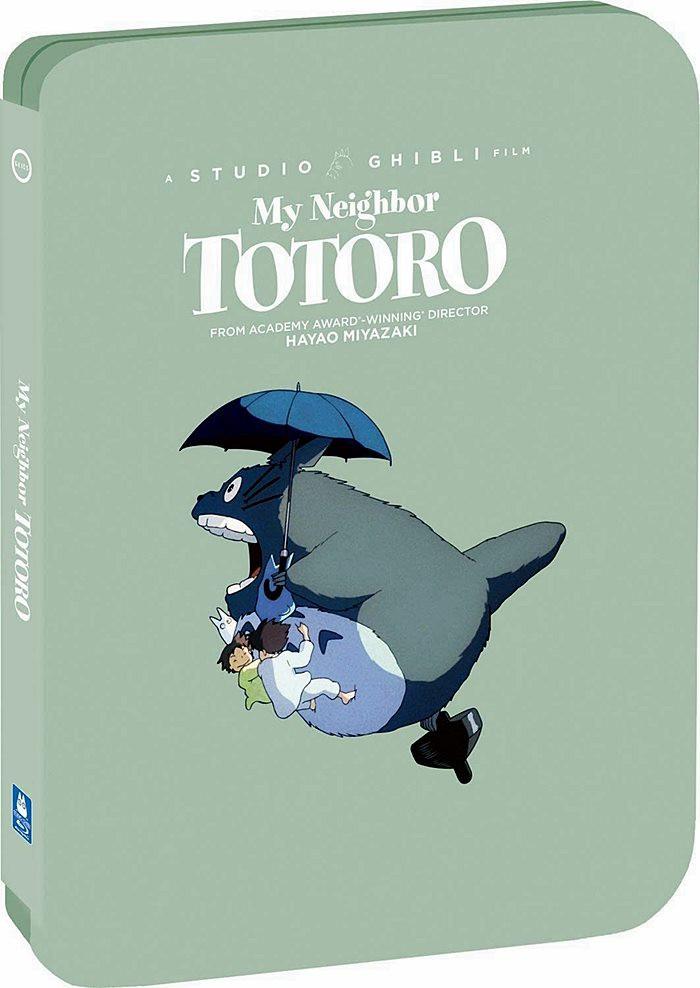 MI VECINO TOTORO (STUDIO GHIBLI) (EDICIÓN EXCLUSIVA STEELBOOK)