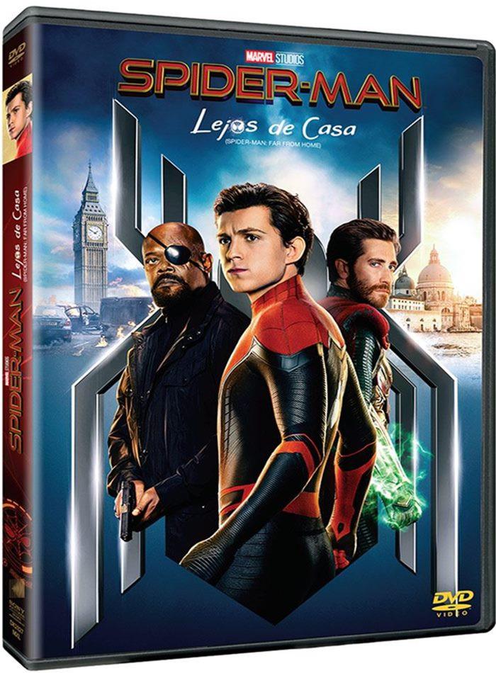 DVD - EL HOMBRE ARAÑA LEJOS DE CASA