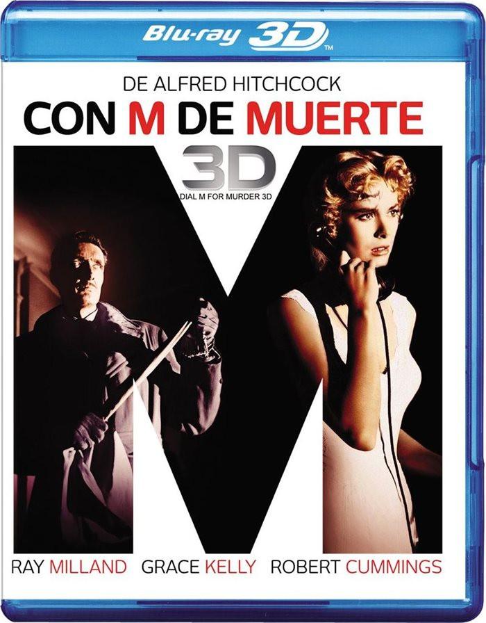 3D - CON M DE MUERTE (INCLUYE 2D y 3D) - Blu ray