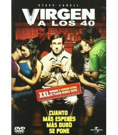 DVD - VIRGEN A LOS 40 (SIN CENSURA)