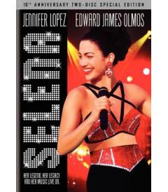 DVD - SELENA ( 10° ANIVERSARIO 2 DISCOS EDICION ESPECIAL) - DESCATALOGADA
