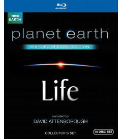 PLANETA TIERRA - VIDA (Earth/Life) 10 Discos