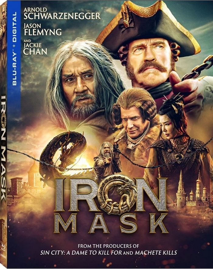 EL MISTERIO DEL DRAGON (IRON MASK)