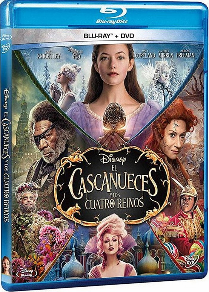 EL CASCANUECES Y LOS CUATRO REINOS (Blu-ray + DVD)