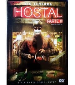 DVD - HOSTAL PARTE III (SIN CENSURA)