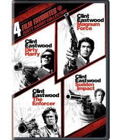 DVD - HARRY EL SUCIO COLECCION (4 FILM FAVORITES)