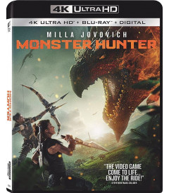 4K UHD - MONSTER HUNTER - PRE VENTA