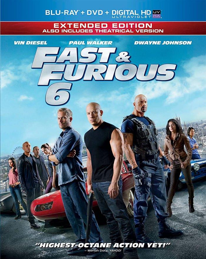 RÁPIDOS Y FURIOSOS 6 (EDICIÓN EXTENDIDA) - Blu-ray + DVD