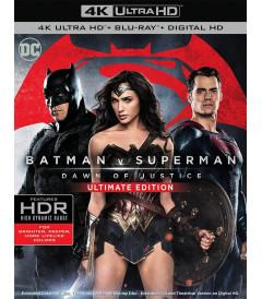 4K UHD - BATMAN VS SUPERMAN (EL ORIGEN DE LA JUSTICIA) (ULTIMA EDICIÓN)