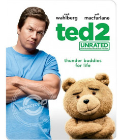 TED 2 (SIN CENSURA) (EDICIÓN STEELBOOK EXCLUSIVA TARGET) - USADA