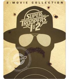 SUPER TROOPERS (COLECCIÓN 2 PELÍCULAS) (EDICIÓN STEELBOOK EXCLUSIVA BEST BUY) - USADA