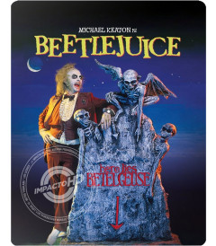 BEETLEJUICE (EDICIÓN STEELBOOK EXCLUSIVA BEST BUY) - USADA