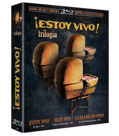 TRILOGIA EL MONSTRUO ESTA VIVO DIGIPACK CON POSTALES